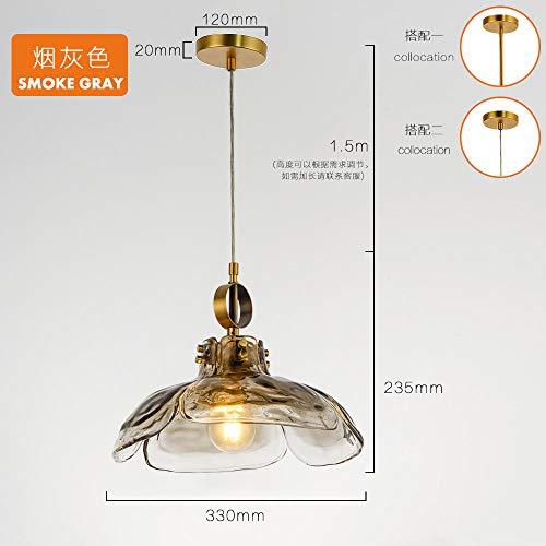 Lampen Pendelleuchte Deckenleuchte Hängelampe Deckenbeleuchtung Restaurant Lampe Modernen Minimalistischen Kreativen Atmosphäre Glas Einzigen Kopf Coffee-Shop-Lampe Im Japanischen Stil Ikea Blütenblat