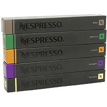 Nespresso Kapseln bestellen Kaffeekapseln Auswahl Espresso (50 Kapseln) - Roma Capriccio Livanto Arpeggio Ristretto
