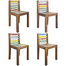 Amazon.it: sedie cucina legno - vidaXL