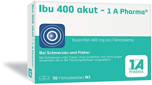 Ibu 400 akut - 1 A Pharma Filmtabletten, 50 St. Tabletten