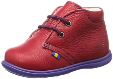 Kavat Borr Darkbrown 988329023, Unisex-Kinder Schneestiefel, Rot (red), EU 23