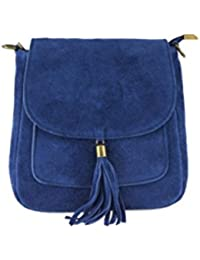 Stern Umhänge Tasche Cross Strass Bag Shopper Clutch Glitzer Canvas Jeans Stoff