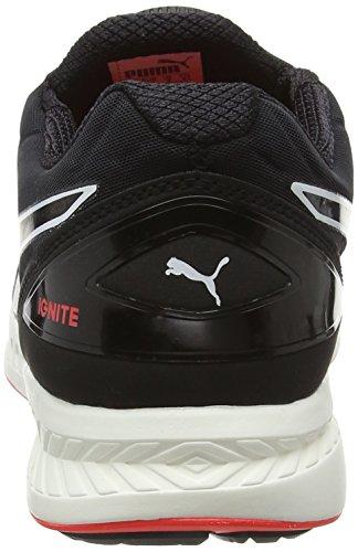 Puma Ignitediscf6, Chaussures de Fitness Mixte Adulte Noir (Black/White/Red 04)