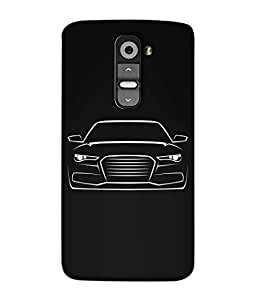 PrintVisa Designer Back Case Cover for LG G3 Mini (Love Lovely Attitude Men Man Manly)