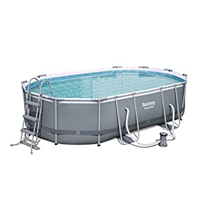 41HQtu 1 TL. SS300  - Bestway Power Steel Oval Swimming Pool
