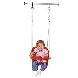 baby walz la barre de porte balancelle b b argent baby walz jeux et jouets. Black Bedroom Furniture Sets. Home Design Ideas