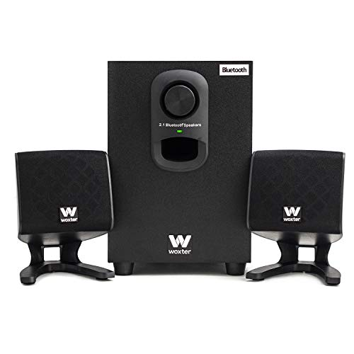 Woxter Big Bass 110 R, Altavoces Multimedia 2.1, Bluetooth con Subwoofer de...