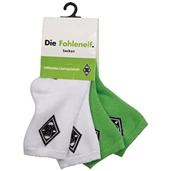 Kappa Baby Socken Bmg Unbranded Mini Stopper Socks 2pairs, 901 White/Green, 15-18, 434953M
