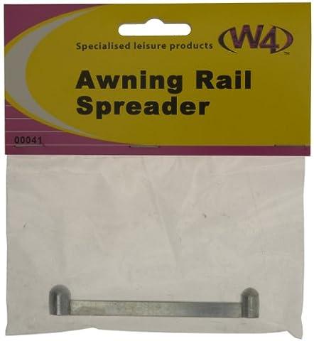 W4 Awning Rail Spreader - Silver