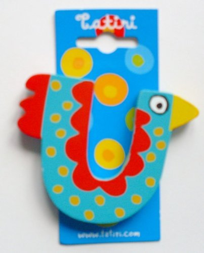 """Tatiri 72030 Holzbuchstabe""""crazy bird - U"""", 7 cm"""