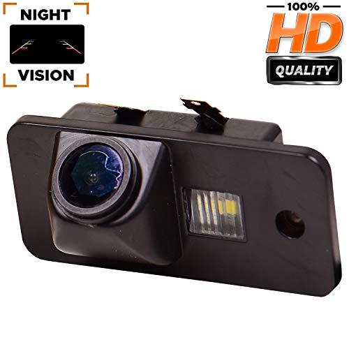 HD 1280x720p Rückfahrkamera integriert in Nummernschildbeleuchtung Nummernschildbeleuchtung Rückfahrkamera für Audi A3 8P 8V S3 A4 B6 B7 B8 S4 A6 C6 S6 RS6 A8 RS4 TT 8N Q3 Q5 Q7