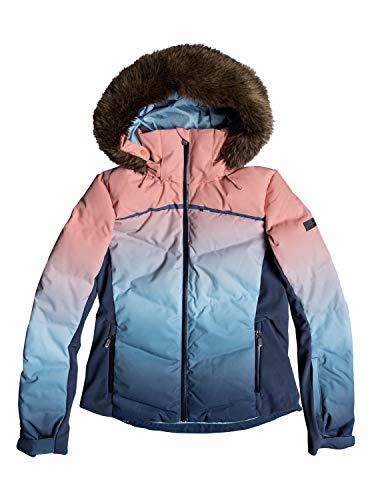 Roxy Snowstorm - Snow Jacket for Women - Snow Jacke - Frauen - L - Blau