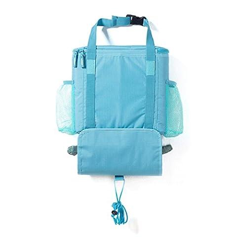 LA HAUTE Car Seat Back Organisers Multi-Pockets Storage Bags Insulated