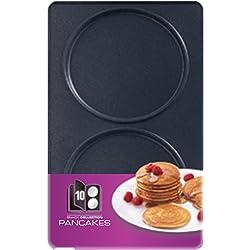 Tefal XA801012 Snack Collection Coffret de Plaque pour Pancake avec Livre de Recettes 4,4 x 15,5 x 24,2 cm