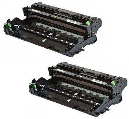 Preisvergleich Produktbild 2 Trommeleinheiten kompatibel für Brother DCP-L5500 DN,  L6600 DW / HL-L5000 D,  L5100 DN DNT DNTT,  L5200 DW DWT,  L6250 DN,  L6300 DW DWT,  L6400 DW DWT DWTT / MFC-L5700 DN,  L5750 DW,  L6800 DW DWT,  L6900 DW DWT / DR3400 DR-3400 DR 3400 Schwarz / Black (30.000 Seiten)