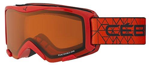 Cébé Skibrille Bionic Red/Orange, CBG117
