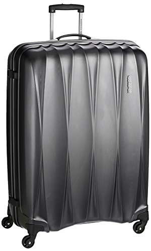 American Tourister Polycarbonate 79 cms Gun Metal Hardsided Suitcase (38W (0) 58 003)