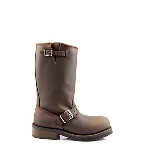 Buffalo Engineer Boots mit Stahlkappe Crazy Horse