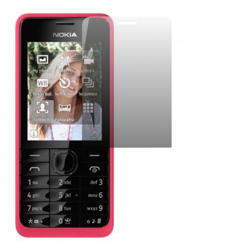 2 x Slabo Displayschutzfolie Nokia 301 | Nokia 301 Dual-SIM Displayschutz Schutzfolie Folie