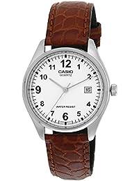 CASIO 19160 MTP-1175E-7B - Reloj Caballero movimiento cuarzo correa piel marrón