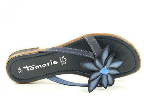 Tamaris 1-27123-28 Zoccoli donna Blau