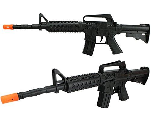 Rattergewehr Retrogewehr M4a1 U.S. Army Spielzeuggewehr Sturmgewehr mit Rattersound Sound Gewehr (Spielzeug Gewehr Black Ops)