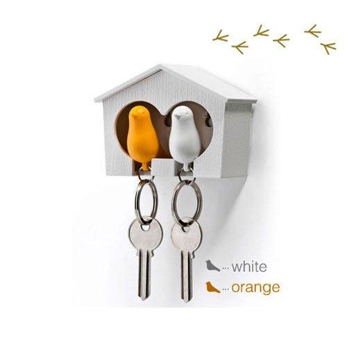 duo-wood-house-sparrow-bird-key-ring-key-holder-whistle-white-yellow-bird