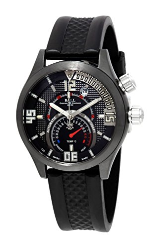 Limited Edition Ball Engineer Master II Diver TMT Titanium Mens Watch Thermometer Date dt1020 a-paj-bkc