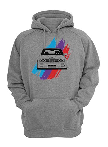 BMW E30 M Power Bluer Purple Red Unisex Pullover Hoodie X-Large