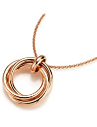 Spirit - New York Damen Halskette Silber vergoldet 99003997430