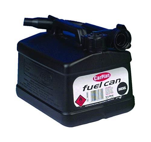 CarPlan TPE005 Jerrican diesel Noir 5 litres