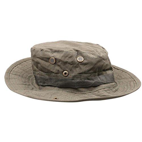 YuanDian Herren Damen Sommer Outdoor Camouflage Taktiken Hüte Sonnenhut Military Trekking Wander Angeln UV Schutz Cap Hut Armee One Size