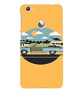EPICCASE Jungle Safari Mobile Back Case Cover For LeEco Le 1s Eco (Designer Case)