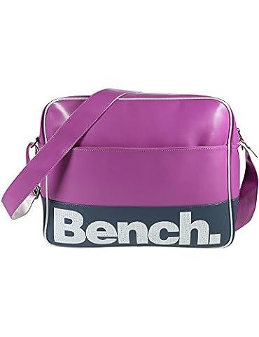 Bench Umhängetasche Montuk, 37.0 x 13.0 x 30.0 cm, 14.4 Liter, Meadowmauve, BUXA0449 (Handtasche Bench)