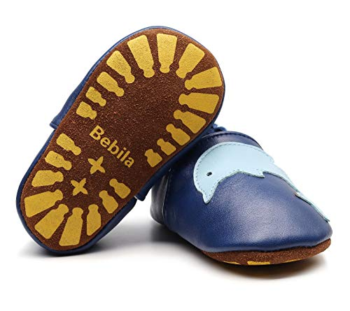 Bebila Baby-Girls leatherbabyshoes001 Slippers