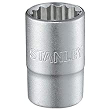 Stanley 1-17-073 12-Point Socket Wrench, Silver, 1/2-Inch 32 mm