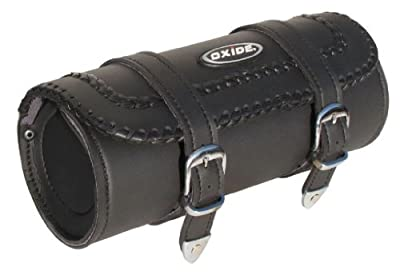 Oxide - Sacoche à Outils pour Selle Moto Roll Lace II Cuir Lanières