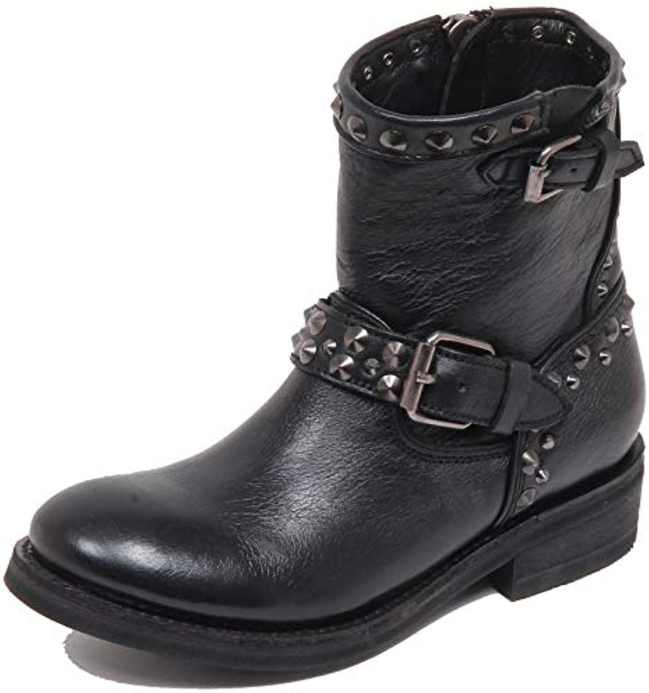 ASH F5794 Biker Donna nero Try Try Try Gun Anfibio Scarpe avvio scarpe Woman   Exquisite (medio) lavorazione  ab84b2
