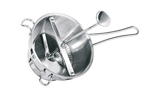 GEFU 24200 Passiergerät FLOTTE LOTTE®, Passiermühle aus Edelstahl - passieren von Obst und Gemüse - inkl. 2 Lochscheiben & Abstreifer