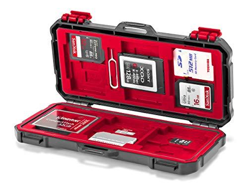ROKO MCC-03 - Mini maletín Plano 24 Tarjetas Memoria