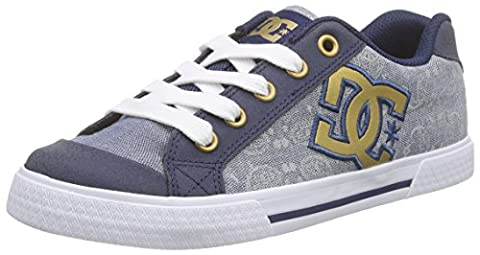 DC Shoes CHELSEA SE J SHOE, Sneakers basses femme, Bleu - Blau (ISB), 36