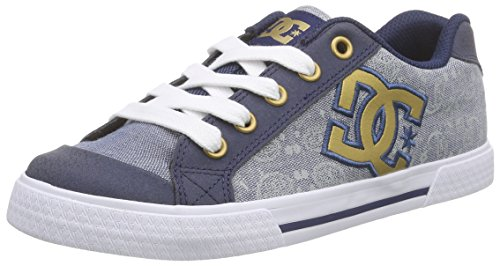 DC Shoes CHELSEA SE J SHOE, Sneakers basses femme Bleu - Blau (ISB)