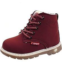 Botas Niño Invierno Amlaiworld Botas de Chicos Chicas Sneaker Patucos  Zapatillas Calientes de Bebé niños niñas e03e5e378150e