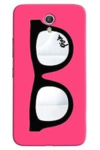 Omnam Spex Or Glass Printed On Pink Background Designer Back Cover Case For Lenovo Zuk Z1