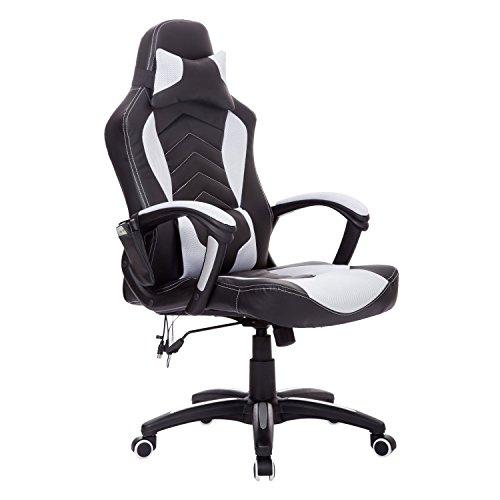 Gaming Stuhl mit Sitzheizung