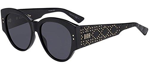 Dior Sonnenbrillen LADY STUDS 2 BLACK/GREY Damenbrillen
