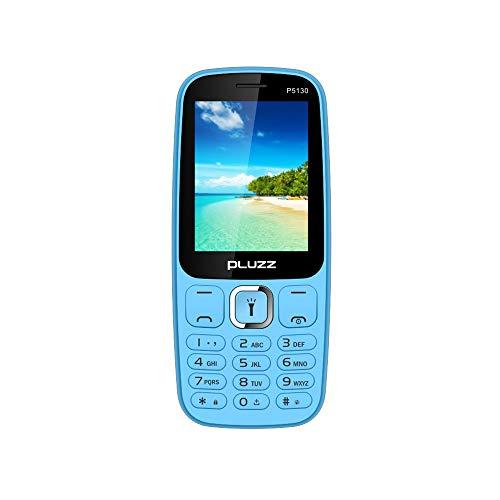 Fulltime E-Gadget 2,4 Zoll Funktionale Telefonkamera RAM 32 MB Unterstützt MP3, MP4, FM Dual SIM-Karte großer Lautsprecher Handy (Blau)