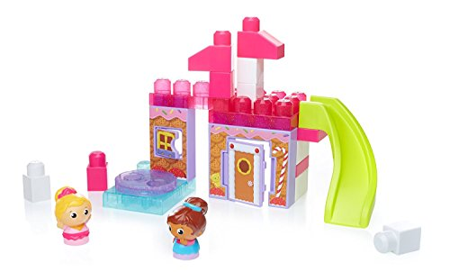 Mega Bloks First Builders - Spin N Slide Gingerbread Park (Dkx86)