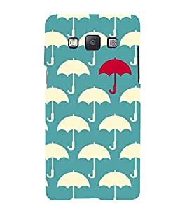 Umbrella Pattern Hard Polycarbonate Designer Back Case Cover for Samsung Galaxy A7 (2015) :: Samsung Galaxy A7 Duos (2015) :: Samsung Galaxy A7 A700F A700Fd A700K/A700S/A700L A7000 A7009 A700H A700Yd