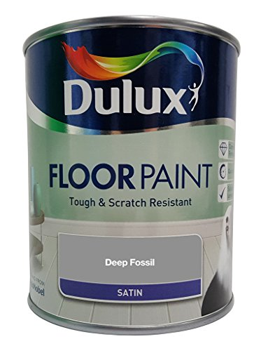 Price comparison product image Dulux Retail Floor Paint Satin DEEP FOSSIL 750ml